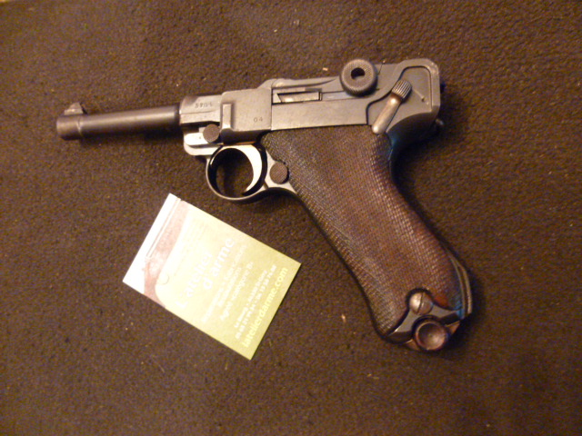 Luger PO8 cal 9 mm