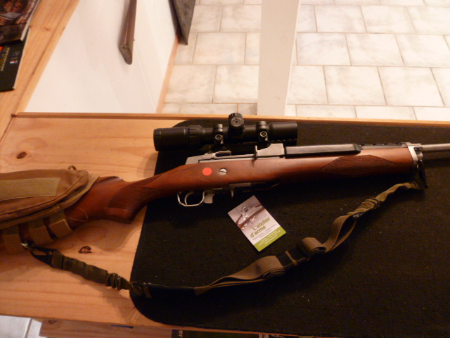 carabine RUGER mini ranch semi-auto cal 222 rem