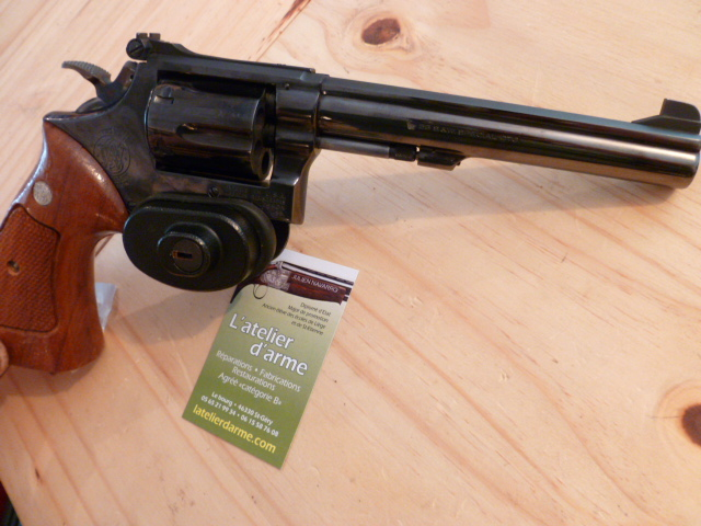 Smith et Wesson mod 14-3 cal 38 sp