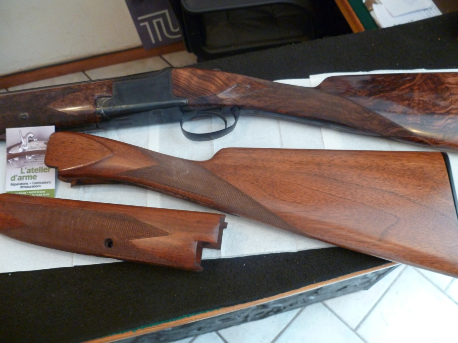 Fabrication crosse Browning B25 luxe