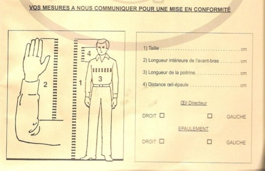 Mise en conformation